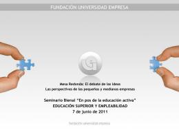 PPT - Cátedra UNESCO de Gestión y Política Universitaria
