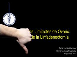 Tumores Limítrofes de Ovario - Instituto Nacional de Cancerología
