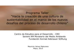 Desarrollo y Crecimiento- Mauricio Jelvez