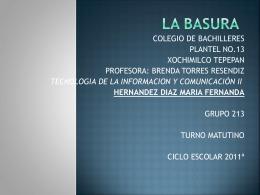 LA BASURA - deportes32