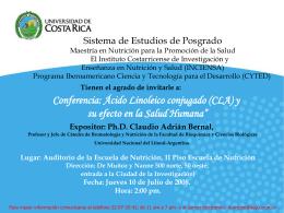 Costa Rica - Facultad de Bioquímica y Ciencias Biológicas