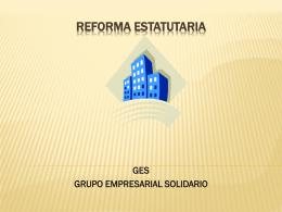 REFORMA ESTATUTARIA