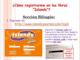 BILINGUE - Acceso al Libro Digital
