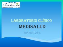 Ver presentación Institucional Laboratorio Medisalud