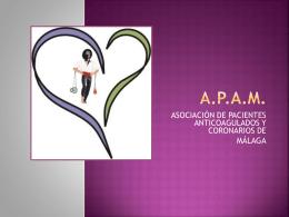 os aportamos una presentación-resumen de la asociación.