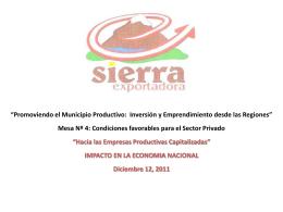 Hacia las EPC_Sierra_Exportadora_Dic_2011