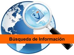 Búsqueda de información en la Web