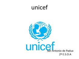 unicef Colegio SAN ANTONIO DE PADUA