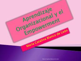 Aprendizaje Organizacional y el Empowerment