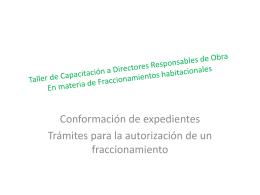 conformacion exp