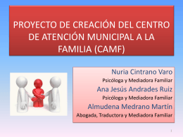 centro de atención municipal a la familia