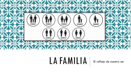 LA FAMILIA - Colegio Monte de Asís
