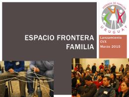 Espacio Frontera Familia Lanzamiento 2015