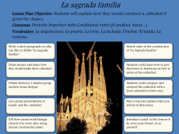 La sagrada familia, gaudi, conditional and