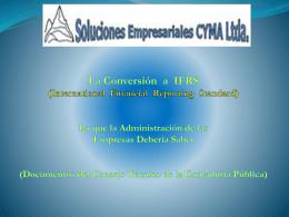Presentación IFRS