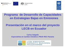 UNDPProgramme por Carlos Salgado