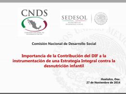 CNDS - DIF Nacional