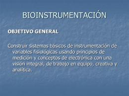 pptx - Bioinstrumentación