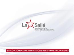 COMUNIDAD - De La Salle