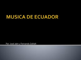 MUSICA DE ECUADOR