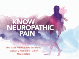 Casos clínicos - Know Pain Educational Program