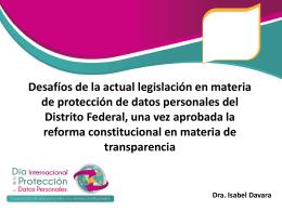 isabel_davara - Instituto de Acceso a la Información Pública y