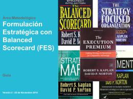 AM - FES - Formulacin Estratgica con Balanced Scorecard