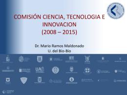 Presentación Director General de Investigación, Desarrollo e
