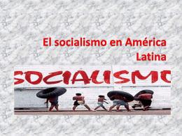 El socialismo en América Latina