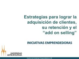 Estrategias ciclo de vida del cliente (Marzo 2014)