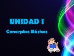 UNIDAD I - unidadcurricularbasededatos
