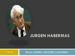 JORGEN HABEXMAS.
