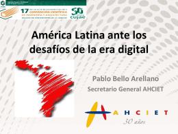 América Latina ante los desafíos de la era digital
