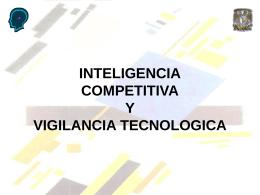 ICVT SESION VI NECESIDADES DE