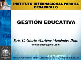 Gestión Educativa - Educación Especial