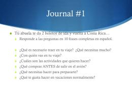Journal#1