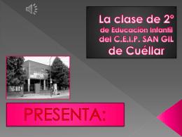 Segundo de educación infantil - Concurso Día de Castilla y León en