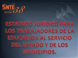 Estatuto Jurídico - Delegación D-II-7