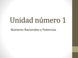 Unidad número 1 - Colegio Dario Salas