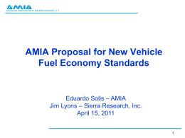 AMIA Proposal