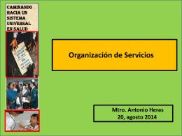 Mtro. Antonio Heras Gómez / Coordinador de Asesores IMSS