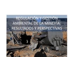 ANÁLISIS DE LA POLÍTICA MINERA Y LA LEGISLACIÓN
