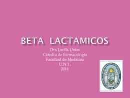 BETA LACTAMICOS - cofatuc.org.ar