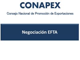 Negociación EFTA