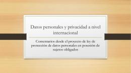 Óscar Puccinell - Instituto de Acceso a la Información Pública y