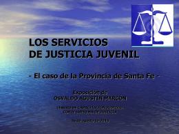 Justicia Juvenil. CAPACITACION JUDICIAL nta Fe.2013