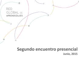Presentación de PowerPoint - Red Global de Aprendizajes