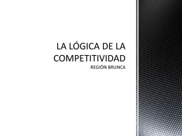 LOGICA DE COMPETITIVIDAD
