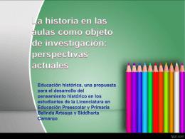 La historia en las aulas  (1505174)