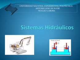Sistemas Hidráulicos